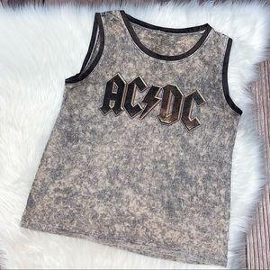 AC/DC   Live Nation Stone Wash Tank